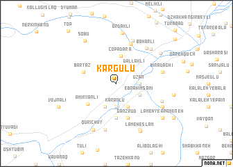 map of Kargulu