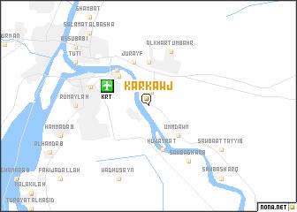 map of Karkawj