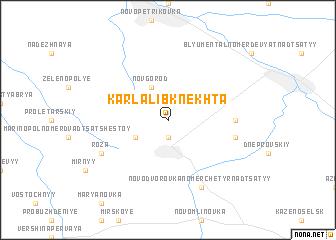 map of Karla Libknekhta