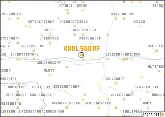 map of Karlsdorf