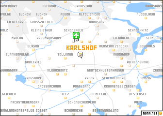 map of Karlshof