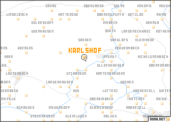 map of Karlshof