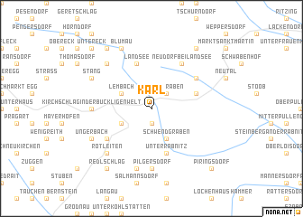 map of Karl