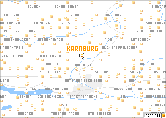 map of Karnburg