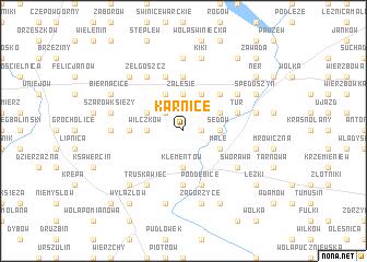 map of Karnice