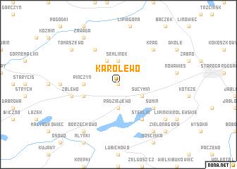 map of Karolewo