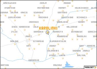 map of Karolinki