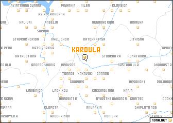 map of Karoúla