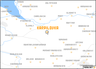 map of Karpilovka