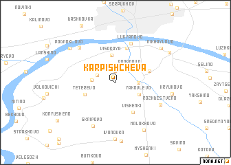 map of Karpishcheva