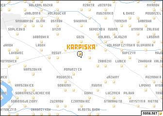 map of Karpiska