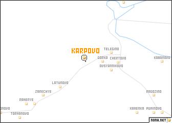 map of Karpovo
