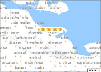 map of Karrendorf