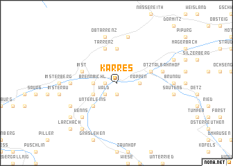map of Karres