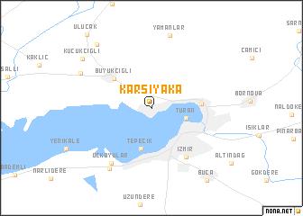 Turkey izmir map of Izmir metro