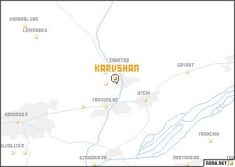 map of Karvshan