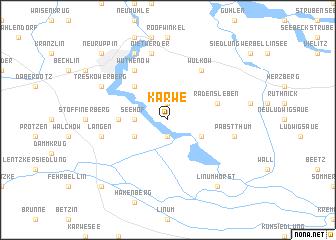 map of Karwe