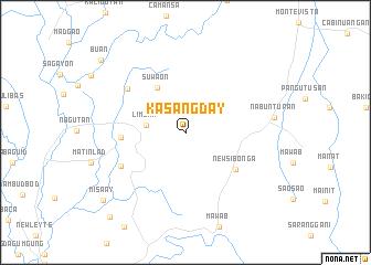 map of Kasangday