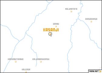 map of Kasanji