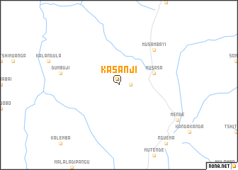 map of Kasanji