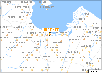 map of Kasemen