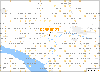map of Kasenort