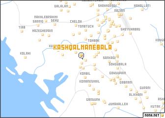 map of Kash Qalmān-e Bālā