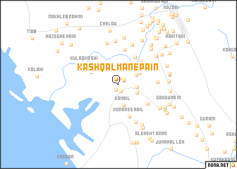 map of Kash Qalmān-e Pā\