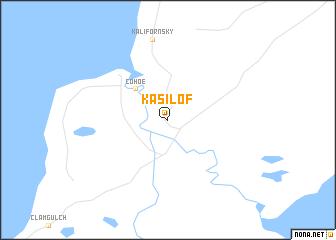 map of Kasilof