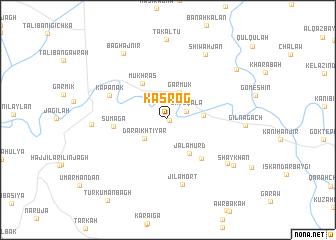 map of Kasrog