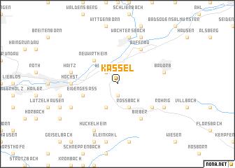 Kassel Germany map nonanet