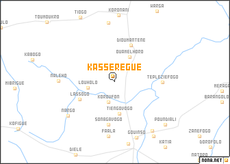 map of Kassérégué