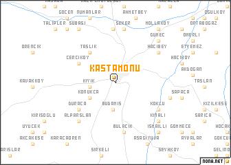 Kastamonu Turkey map nonanet