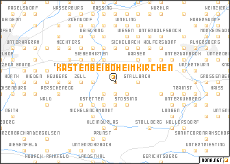 map of Kasten bei Böheimkirchen