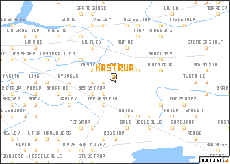 map of Kastrup