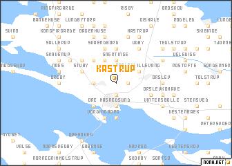 map of Kastrup