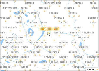map of Kasunkwin