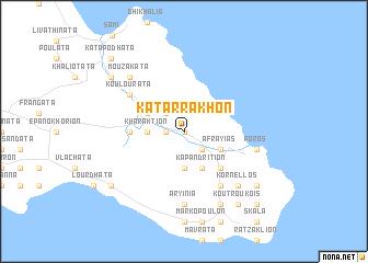 map of Katárrakhon