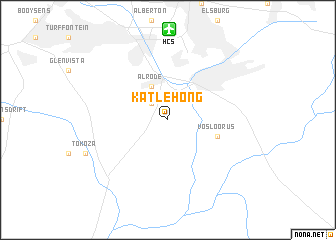 Katlehong South Africa map nonanet