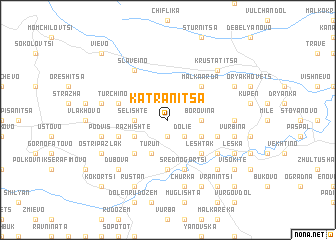 map of Katranitsa