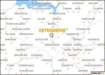 map of Katsidhaíika