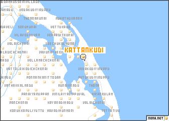 map of Kattankudi