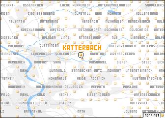 map of Katterbach