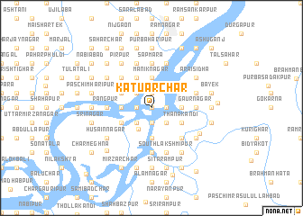 map of Kātuār Char