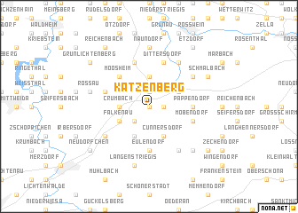 map of Katzenberg