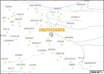 map of Kaunissaare