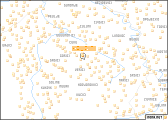 map of Kaurini