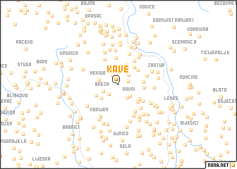 map of Kave