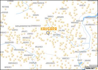 map of Kavgara