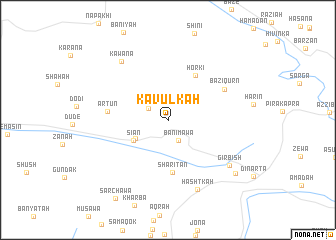 map of Kāvulkah